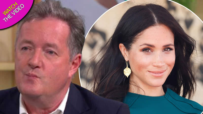 Piers Morgan claims Meghan Markle ditched