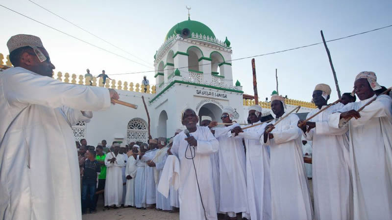 Kenya Lamu mosque