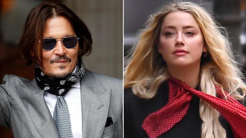 Amber Heard leaves Johnny Depp