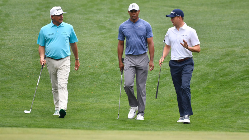 Fred Couples Thinking of my guy Tiger Woods