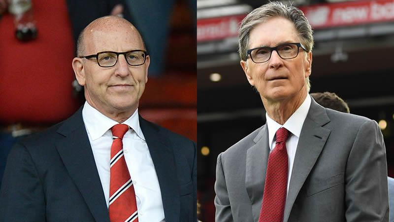 Manchester United and Liverpool owners apologise