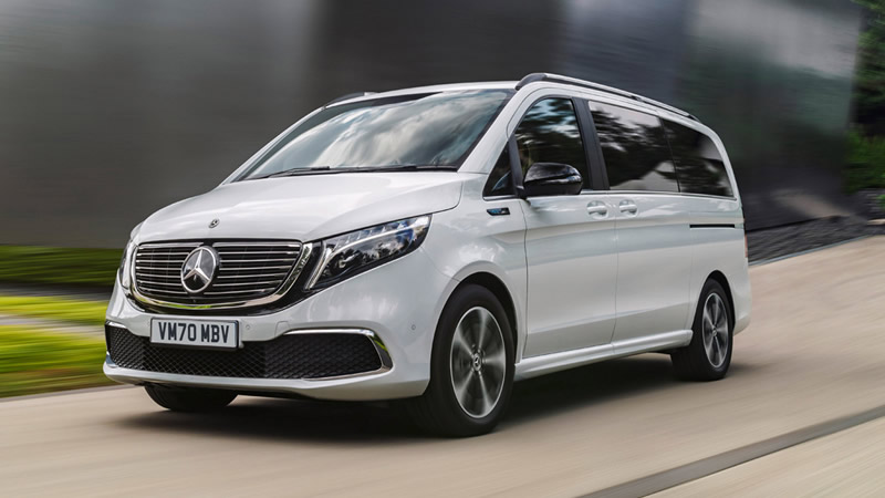 Mercedes Benz EQV 2021