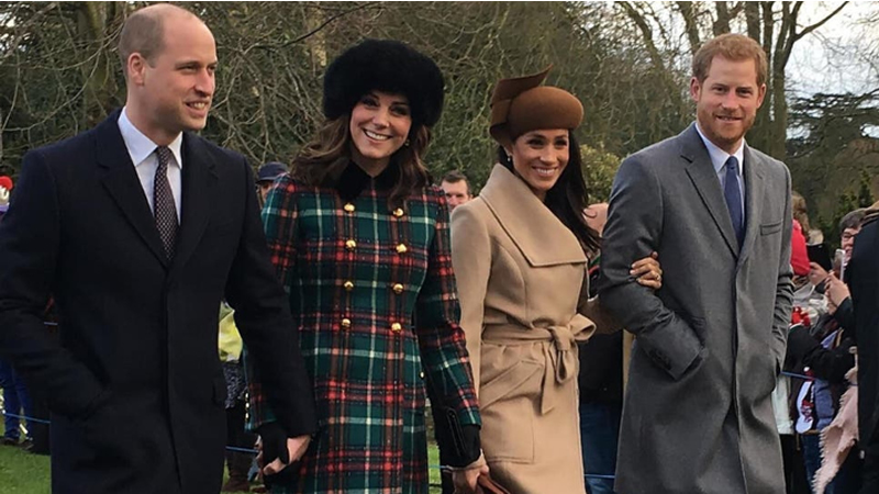 Prince Harry Fell Out William
