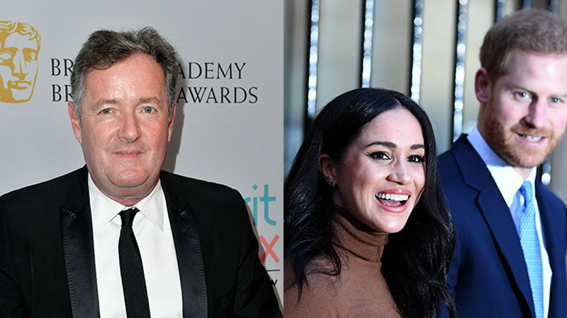 Prince Harry and Meghan Markle face fresh challenge from Piers Morgan