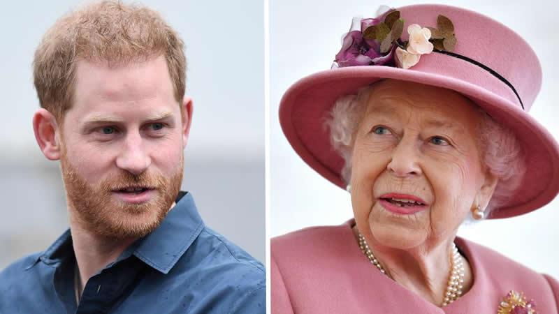 Prince Harry met Queen Elizabeth
