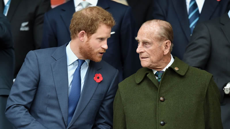 Prince Harry missing Prince Philip