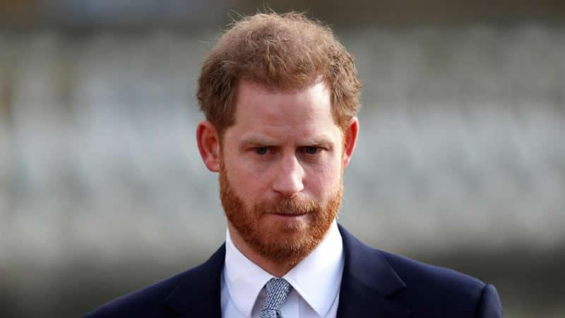 Prince Harry not happy