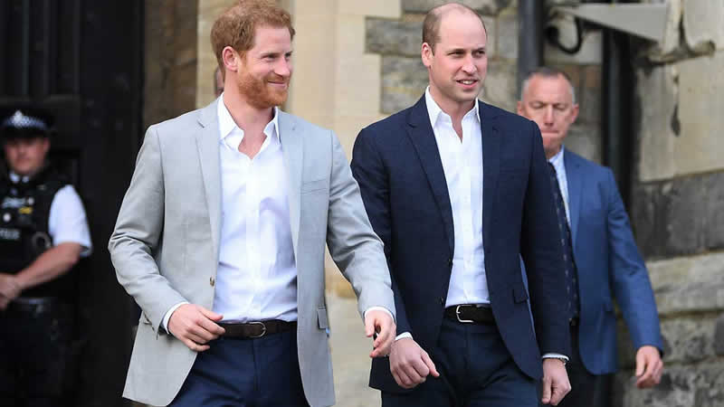 Prince William and Harry were bonded