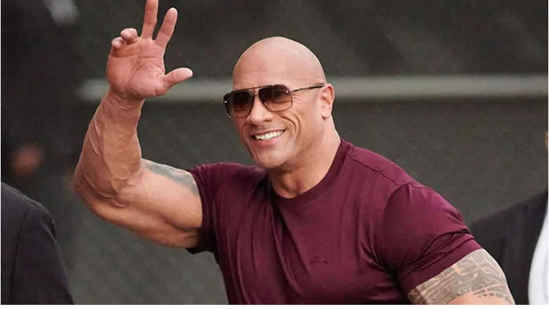 Dwayne Johnson sweet note for wife