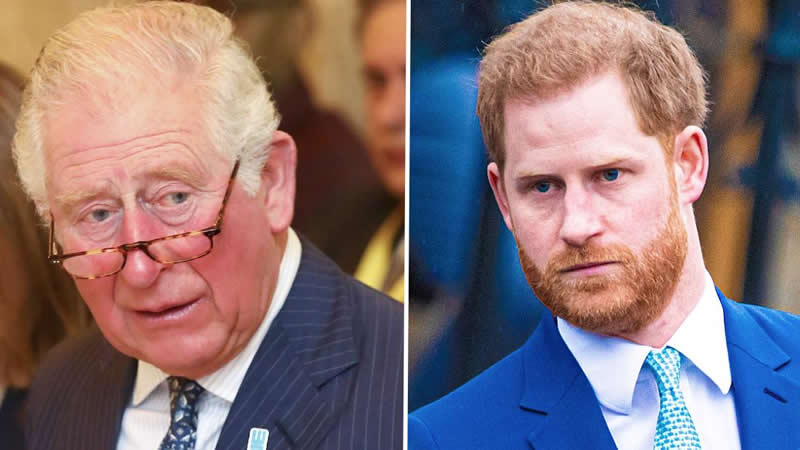 Prince Charles claims Harry