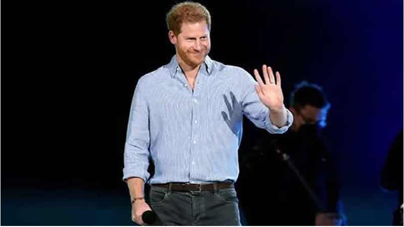 Prince Harry woos Americans in star