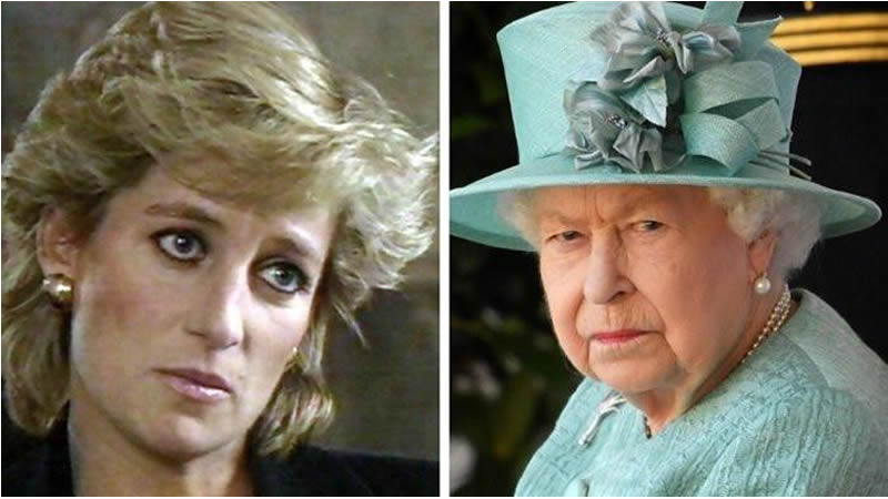 Princess Diana kept distance Queen